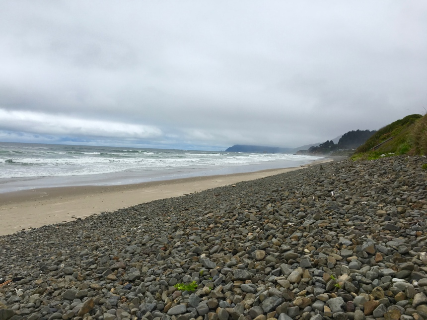 river rocks, Oregon coast, Arch Cape, sea air, beach combing