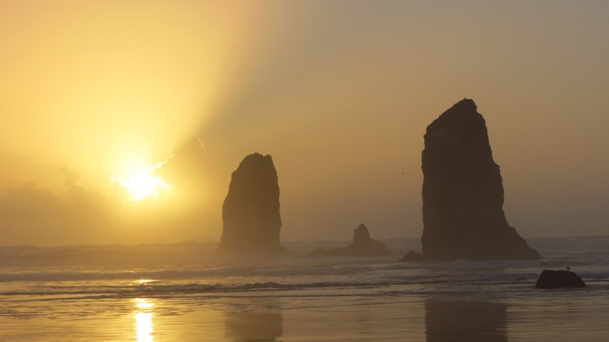 L.S. Berthelsen, Cannon Beach, Oregon coast, travel,