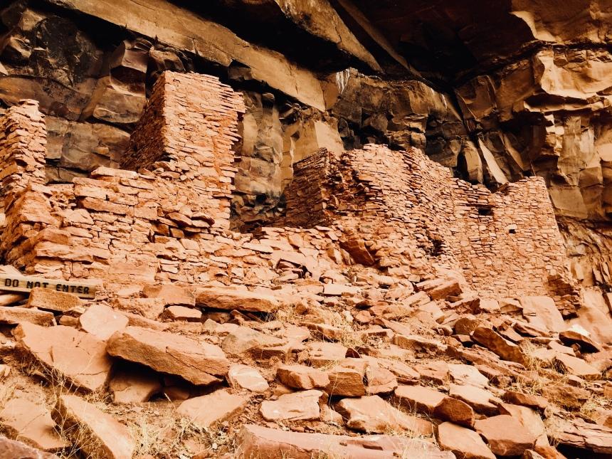 Sedona, AZ, Anasazi, pueblo, L.S. Berthelsen, Ruins,