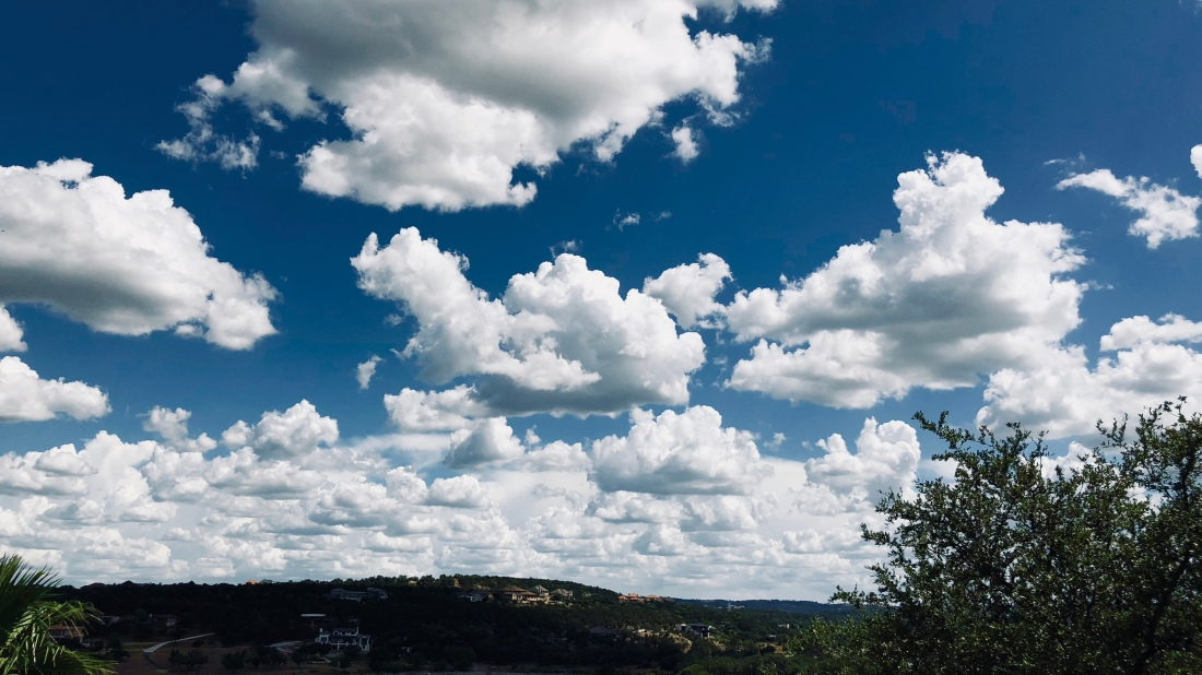 Clouds, Big Sky, L.S. Berthelsen, Texas Hill Country.