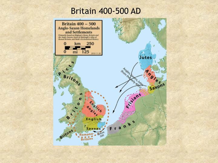 Britain 400-500 AD