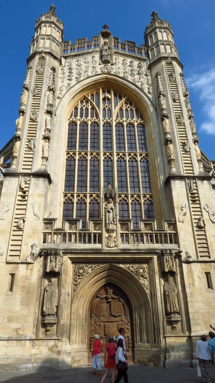 Jacob's Ladder, Bath Abbey, UK, L.S. Berthelsen, Growing Up,