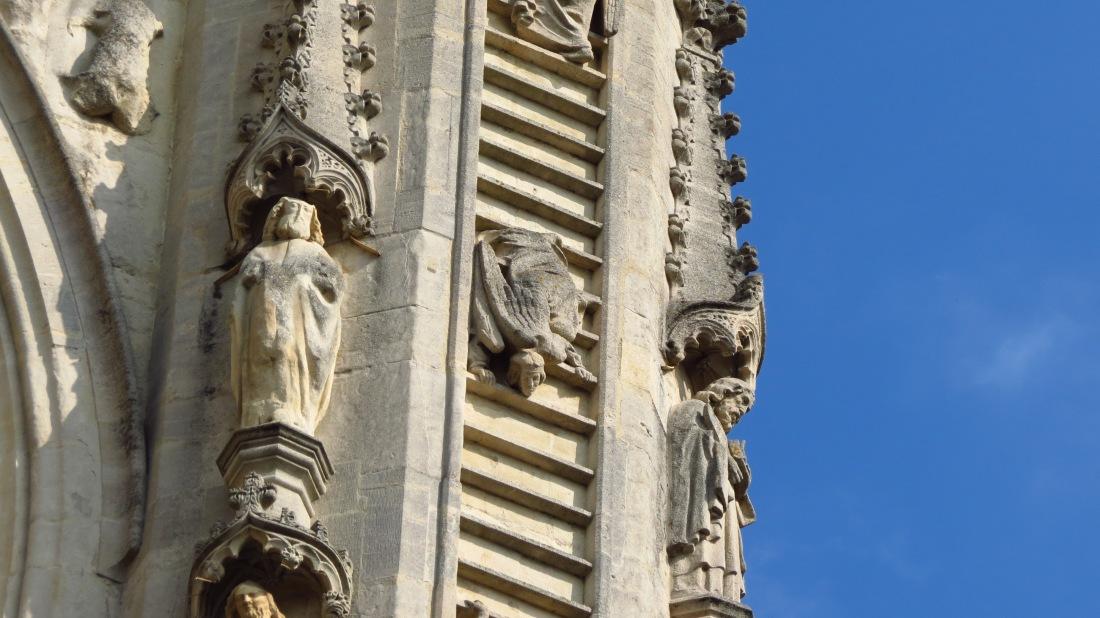 Bath Cathedral, UK, L.S. Berthelsen,