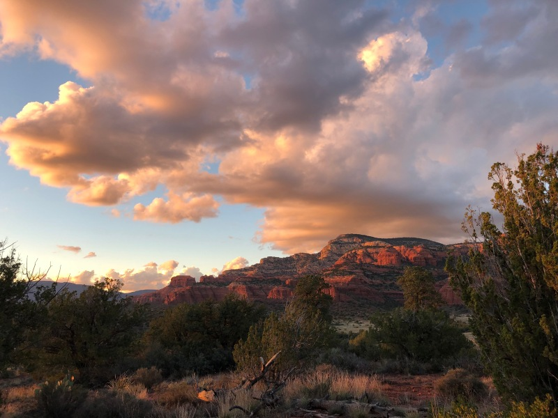 Sunset, Sedona, Wilderness, Featured Image