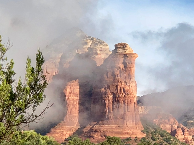 coffeepot rock, Sedona,