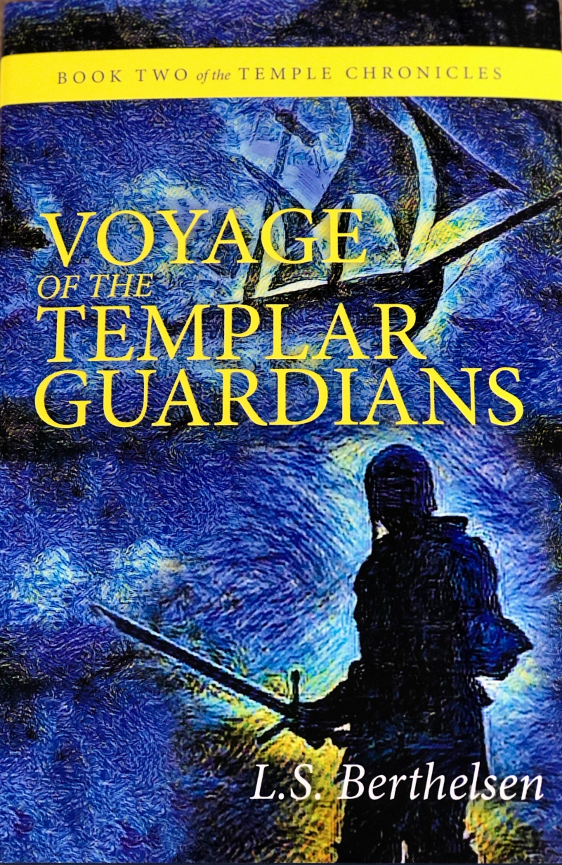 Featured Image, Voyage of the Templar Guardians, LS Berthelsen,