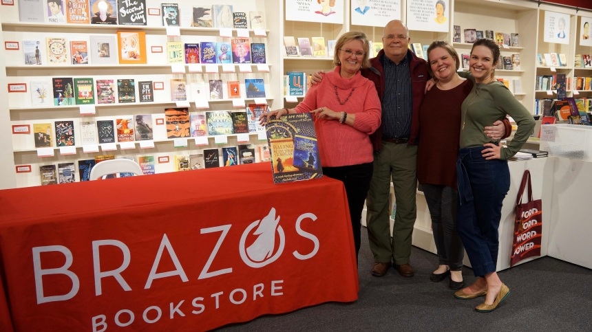 Brazos Bookstore, Houston events, Blog, L S Berthelsen, Linda Berthelsen, Voyage of the Templar Guardians, Temple Chronicles, medieval history, mysticism, books, night reads, visionary fiction, quantum living, finding courage, spiritual quest, Be here now, quantum reading, gratitude